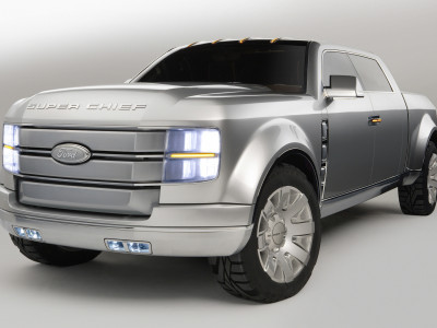 Ford F-250 Super Chief Concept - Foto eines Ford Concept-Cars