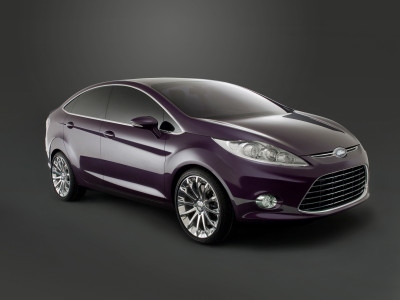Ford Verve Notchback Concept - Foto eines Ford Concept-Cars