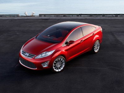 Ford Verve Sedan Concept - Foto eines Ford Concept-Cars
