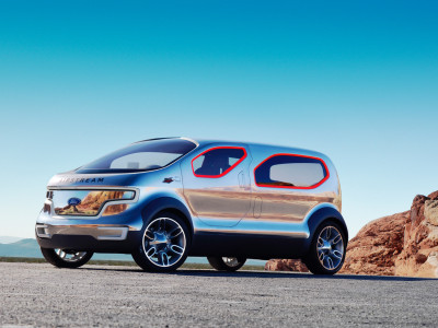 Ford Airstream Concept - Foto eines Ford Concept-Cars