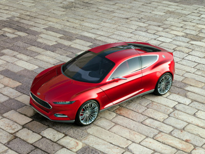 Ford Evos Concept - Foto eines Ford Concept-Cars