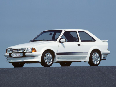 Ford Escort RS Turbo (1984) - Foto eines Ford PKW-Modells