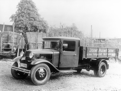 Ford Modell BB (1932) - Foto eines Ford LKW/Bus-Modells