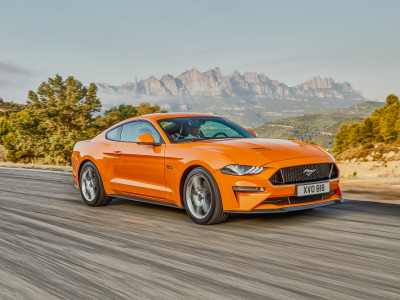 Ford Mustang Fastback-Coupé (2018) - Foto eines aktuellen Ford PKW-Modells