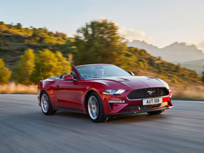 Ford Mustang Convertible-Cabriolet (2018) - Foto eines aktuellen Ford PKW-Modells